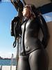 Black1300011b (mixnuts club) Tags: fetish scuba diving rubber diver wetsuits frogwoman