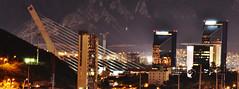 Puente Atirantado / Torres Moradas (rayados19) Tags: nightphotography mountain mexico noche cityscape cityscapes cerro nuevoleon montaa monterrey lahuasteca puenteatirantado sanpedrogarzagarcia torresmoradas monterreynuevoleon