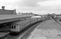 C313 at Barry Island 05.05.1986 (1) (The Cwmbran Creature.) Tags: lines rail class valley british 116 c3 dmu