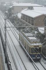 DSC_7096c (Tokutomi Masaki) Tags: winter snow train tokyo       2013