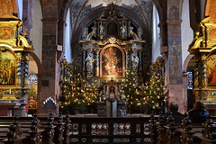 Kloster Steinfeld (videamus) Tags: church germany weihnachten deutschland nikon europa catholic kunst religion pray jesus iglesia kirche himmel kirchen eifel kreuz christen josef architektur pro ora allemagne kerzen rheinland eglise heimat kloster hermann christus uns heiliger fr katholisch rmisch bitte erzbistum mittelalter glaube d600 christbaum nobis heiland catholique gotteshaus christentum katholische sakralbau salvatorianer