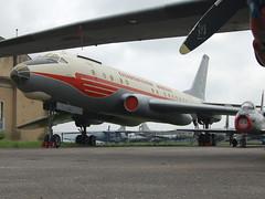 OK-LDA Tupolev Tu-104A (johnyates2011) Tags: tupolev aviationmuseumkbely