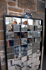 Hide and Seek Mirror,Edinburgh,Scotland (Dragos Cosmin- Getty Images Artist) Tags: camera distortion castle fun mirror scotland edinburgh scottish hide seek cameraobscura distorsion obscura