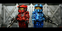 War Games (Geoshift) Tags: lego 4 halo spartan brickarms halo4 customminifig legohalo legocustomminifig brickaffliction