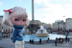 Trafalgar Square, London!