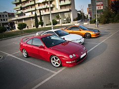 Honda Integra Type R Meet (Vesar Photography) Tags: red orange white honda greek photography championship milano greece turbo r type thessaloniki civic integra edm jdm nsx typer recaro ellada vtec itr b18c vesar kontres