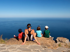 Lion's Head Summit (rycat) Tags: family capetown lionshead gf1