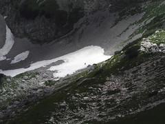 Radiša Živković - Dance (Radisa Zivkovic) Tags: light mountain snow landscape scenery europe olympus scene human figure lone wilderness montenegro crnagora durmitor sarenipasovi skrickozdrijelo