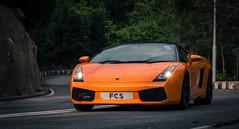 Lamborghini Gallardo Spider  - FCS (Black Cygnus Photography) Tags: cars hongkong spider autos sportscars fcs sheko italiancars lamborghinigallardo sbend orangecars december2012 canon5dmk3 keithmulcahy blackcygnusphotography ppa7a0 ppd56c