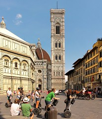 Getting Around Florence by carriage ride or Electric walk (Bn) Tags: santa city pink blue summer sky italy horse holiday green tower heritage church bike electric architecture del foot florence italia catholic exterior carriage ride cathedral bell roman walk top maria basilica centre gothic shades tourist historic unesco campanile campana tuscany dome di firenze panels marble piazza duomo visitors visiting fiore complex breathtaking attraction largest itali segways florenza florenti