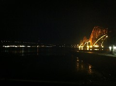 The two bridges as seen from South Queensferry (simonscotland) Tags: scotland forthbridges iphoneography streamzoo