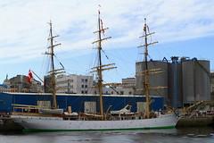 IMG_1632 (Paco Gonzlez1) Tags: puerto muelle corua barco cuttysark 2012 velero tallshipsrace trasatlantico
