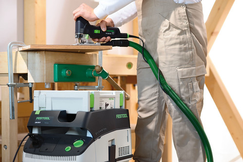 ps 300 dust select extraction hepa festool... (Photo: FestoolUSA on Flickr)