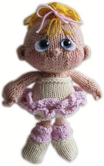 Bunhead Outfit for Purl the Little Knit Girl PDF