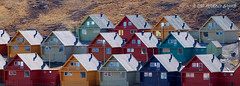 Living in a box of colors (bagordophoto) Tags: houses colors norway north case svalbard colori norvegia longyearbyen arcticocean colourfulhouses oceanoartico