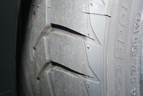 Tires with like new Tread Depth