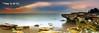 Nightcliff Darwin Northern Territory Australia Panoramic (Kiall Frost) Tags: sunset panorama seascape colour beach landscape sand nikon rocks nt pano darwin panoramic northern territory nightcliff cocodiles kiallfrost
