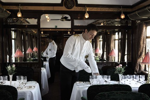 Venice-Simplon-Orient Express - restaurant car