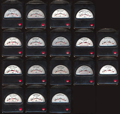 Photolux and Ombrux meters by Gossen (Lux4u2) Tags: leica germany exposure photographic meter gossen selenium blendux ombrux photolux lux4u2 cimbrux