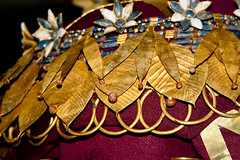 CU608 Queen Puabis Headdress (listentoreason) Tags: usa art history philadelphia archaeology metal museum america canon gold unitedstates pennsylvania favorites places penn material jewlery upenn universityofpennsylvania ancientworld universityofpennsylvaniamuseumofarchaeologyandanthropology pennmuseum ef28135mmf3556isusm score30 museumofarchaeologyandanthropology ancientmesopotamia μεσοποταμία bethnahrain bilādalrāfidayn