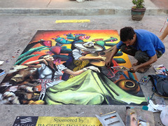 Chalk paintings in the streets of Bucerias, Mexico (joven_60) Tags: streetart mexico chalk gis nayarit bucerias chalkpainting