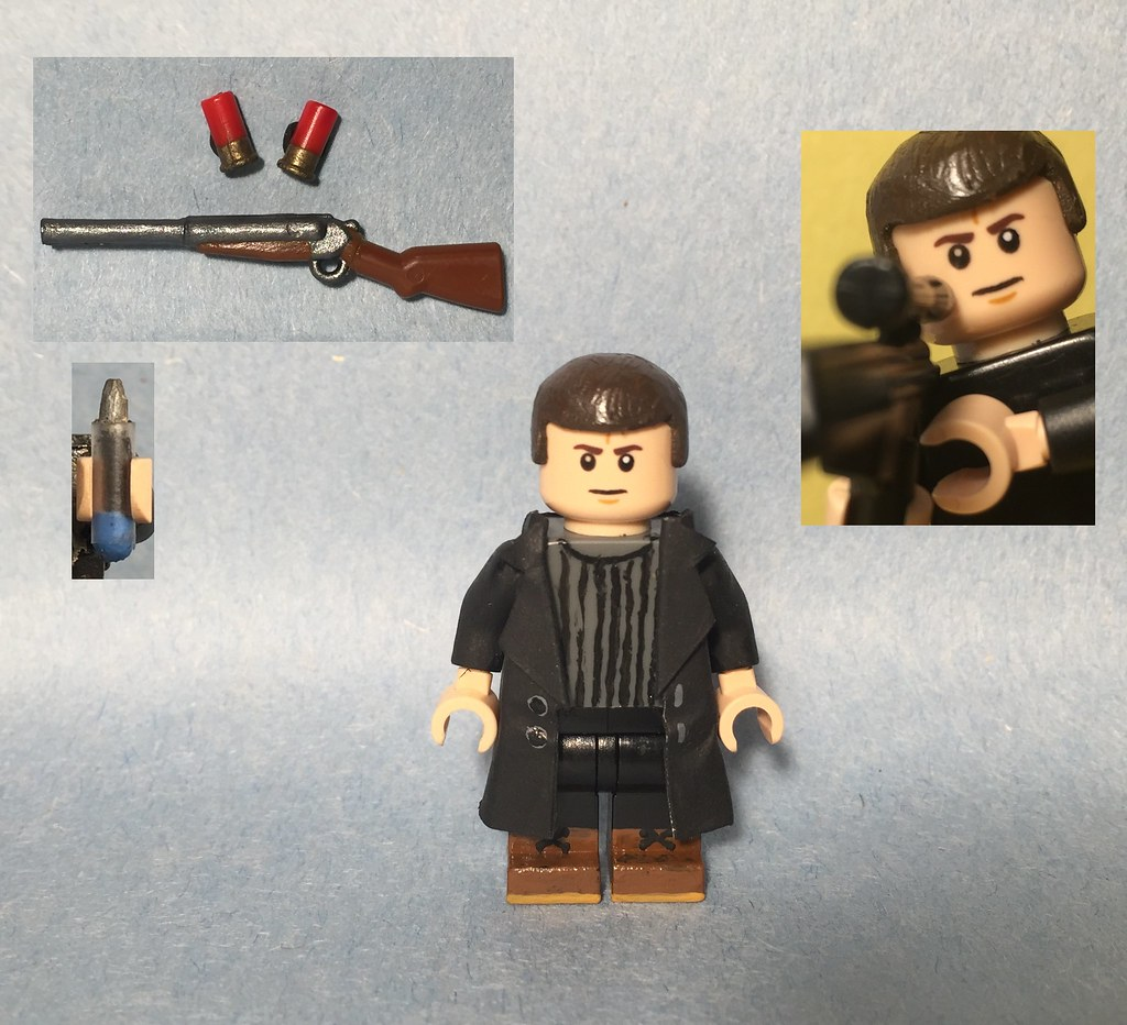 how to make a lego shotgun for minifigs