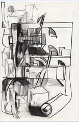 Basel_IV_Basel_vier (JENS01) Tags: kohle graphite bleistift drawing sketchbook skizzenbuch sketches berlin friedrichshain art kunst skizze painting dessin