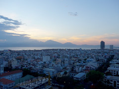 End of the day (Roving I) Tags: sunsets bays sea cities hills cloud sky danang vietnam