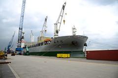 Chipolbrok Pacific (DST_7885) (larry_antwerp) Tags: chipolbrokpacific zuidnatie terminal 9710177 antwerp antwerpen       port        belgium belgi          schip ship vessel        gottwald crane chipolbrok