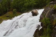 Grizzly (BorisJ Photography) Tags: 2016 7d borisjusseit borisjphotography canon eos geiranger geirangerfjord grizzly grizzlybear july norway norwegen river rock rockface urlaub vacation wasserfall water germany de