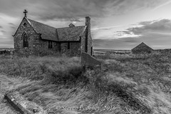 Set In Stone (Steven Peachey) Tags: mono monochrome landscape church canon blackwhite ef1740mmf4l canon6d leefilters lee09gnd northumberland stevenpeachey lightroom5