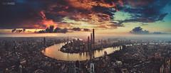 fire city (blackstation) Tags: shanghai balckstation