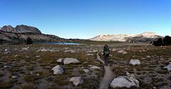 Hiking out for the second day (Franklyn W) Tags: yosemite sierra nationalpark backpacking tuolumnemeadows tuolumneriver lyellcanyon johnmuirtrail irelandlake vogelsang highsierra granite wilderness backcountry hiking twitter tumblr