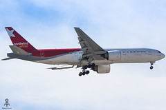 Nordwind Airlines B777-200ER VP-BJB (Marta S. Costa Aviation Photography) Tags: nordwindairlines boeing boeinglovers b777 b772 airplane aircraft airplanespotting lisbon aviation aviationlovers canon lisbonairport