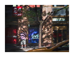 Someone Might Need A Chill Pill... (icypics) Tags: america colour newyork signs streetphotography cab shadows taxi tree