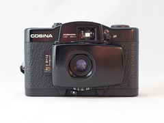 Cosina CX-1 11 () Tags: cosina lomo lomography purple zone focus black plastic japan vintage retro classic 35mm film camera