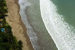 Walking on the beach (E. Aguedo) Tags: beach sand water trees coast san juan del sur nicaragua ngc central america