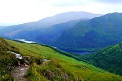 Uplands/S/Loch Lubnaig & Ben Ledi from the slopes of Ben Each/Pauline Deas/20160712 (Pauline Deas) Tags: loch lubnaig ben ledi callander trossachs scotland scottish scenery each beinn uplandssloch from slopes eachpauline deas20160712