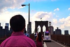 No Sleep 'Till Brookyln (aponirakis) Tags: brookyln brookylnbridge bridge walkway nyc newyorkcity