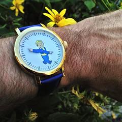 Vault Boy watch (Mycophagia) Tags: vaultboy watch fallout
