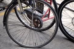 Wheels (jcbkk1956) Tags: wheels bicycles tyres tires spokes hubs fuji xt1 carlzeiss tessar manualfocus 45mmf28 bangkok thailand