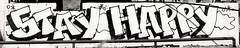 Wishing happiness to all my Flickr viewers! (cbrozek21) Tags: happy stayhappy graffiti mural streetart wishes