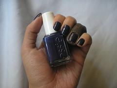 No More Film (Essie) (Daniela nailwear) Tags: nomorefilm essie cremoso azul esmaltes esmalteimportado mãofeita