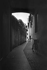 Via Del Cristo (||S| GammaSintesi) Tags: minox35gt blackandwhite bw ilford xp2super400 film pordenone friuli italia monocrome pellicola v700