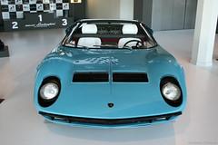 Lamborghini Miura Roadster (Clment Tainturier) Tags: motors valley italy lamborghini museo santagata bolognese miura roadster