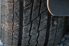 Texture Tuesday (Robin Penrose) Tags: 7daysofshootingweek9planes trainsandautomobilestexturetuesday 201609 tires treads