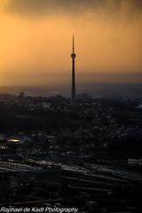 Brixton Tower In The Evening Squall! (Raphael de Kadt) Tags: sentech brixton johannesburg squall brixtontower tower antonbosman sundown sunset socialcomment southafrica sky gauteng