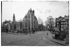 Canals of Amsterdam (City-Photography) Tags: canals amsterdam netherlands holland dutch canal amsterdamse grachten gracht city bridge architecture black white photography fotos zwart wit street buidings building scene wereldstad holiday historic historisch photo picture pictures bw blackwhite blackandwhite europe people citie cities stad travel adventure trip tourist travelphotography traveltheworld