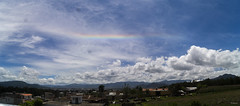 Colores en el Cielo (sierramarcos14695) Tags: guatemala quetzaltenango arcoiris colores linea cielo nubes azul ciuda ciudad panoramica cotidianidades urban exploration