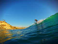 Salt Creek Surfer (Fire2smoke) Tags: surfer salt creek waves gopro orange county california ocean socal clearsky hero4 danapoint